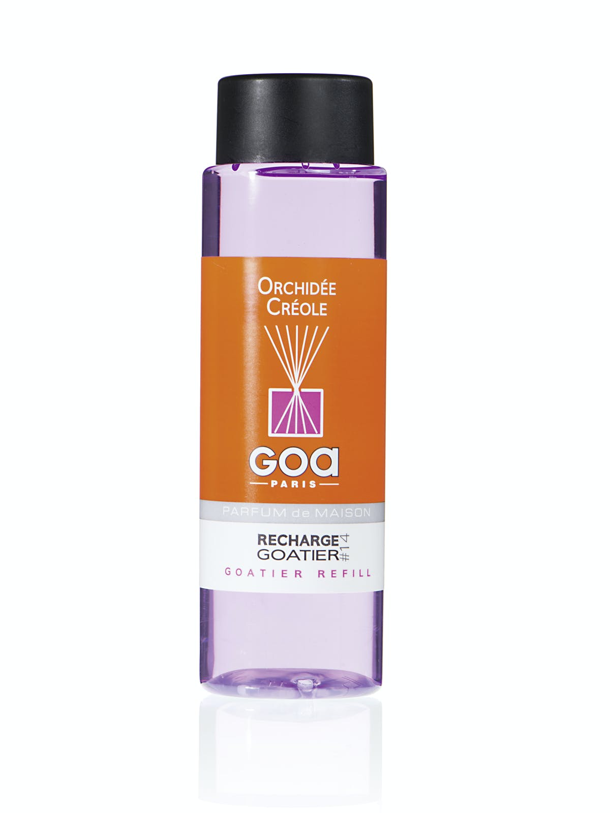 Recharge Orchidée Créole pour diffuseur de parfum CLEM GOA 260ml