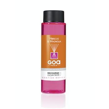 Recharge Hibiscus et Magnolia pour diffuseur de parfum CLEM GOA 260ml
