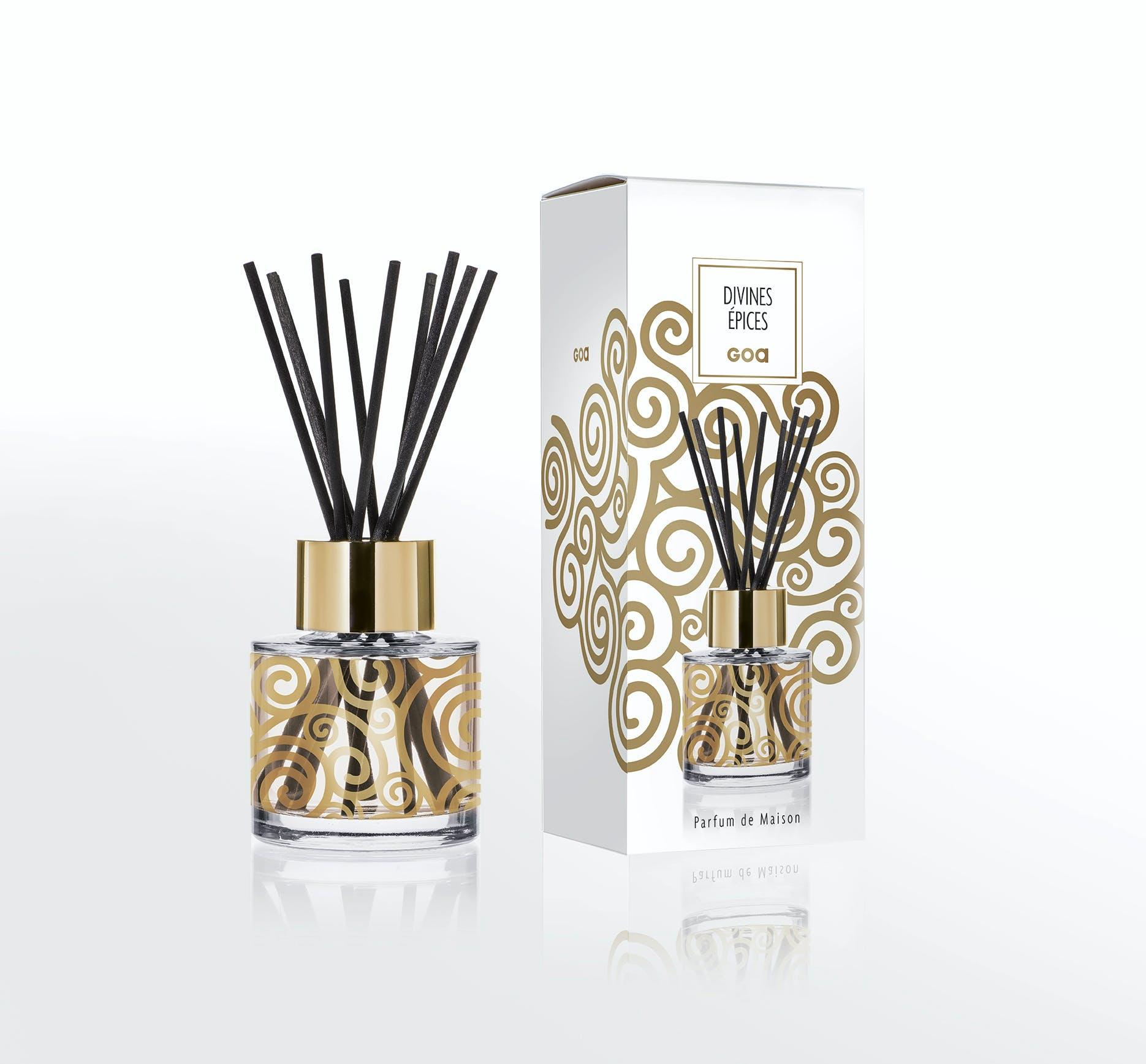 Diffuseur de parfum Divines Epices CLEM GOA 200ml