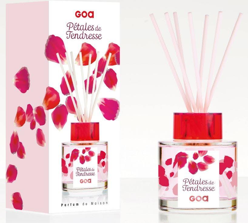Diffuseur de parfum Pétales de Tendresse CLEM GOA 200ml
