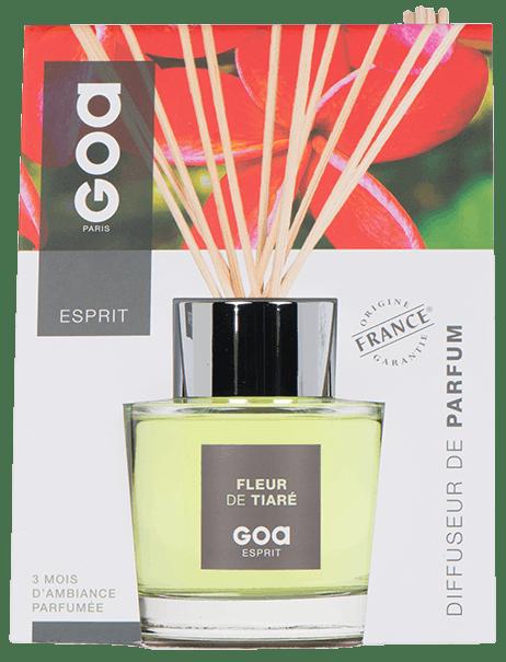 Diffuseur de parfum Esprit Fleur de Tiaré CLEM GOA 200ml