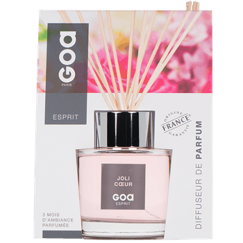 Diffuseur de parfum Esprit Joli Coeur CLEM GOA 200ml