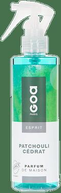 Vaporisateur de parfum Esprit Patchouli Cédrat CLEM GOA 200ml