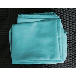 Jeu de Housses tissu bleu pour Salon de Jardin ACAPULCO