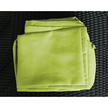 Jeu de Housses tissu vert pour Salon de Jardin ACAPULCO