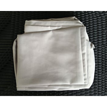 Jeu de Housses tissu gris pour Salon de Jardin COPACABANA