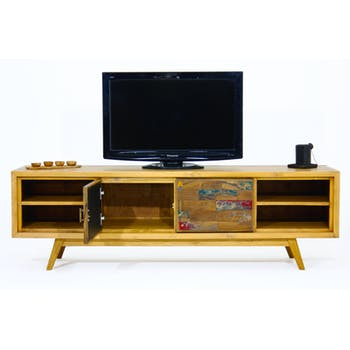 Meuble TV Teck recyclé LOMBOK réf. 30019941