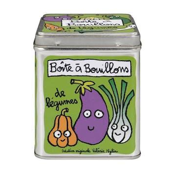 CUISINE DE VAL - Boite à cubes bouillons Légumes vert Verte DLP
