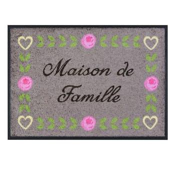 MAISON DE FAMILLE - Tapis de patio LEMIYO Gris DLP