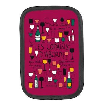 LES COPAINS D'ABORD - Rafraichisseur de bouteille Bordeaux DLP