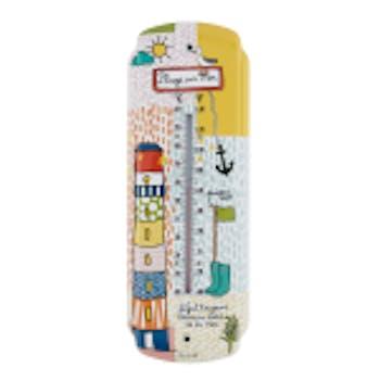 PLAGE - Thermomètre Multicolore 30X10cm DLP