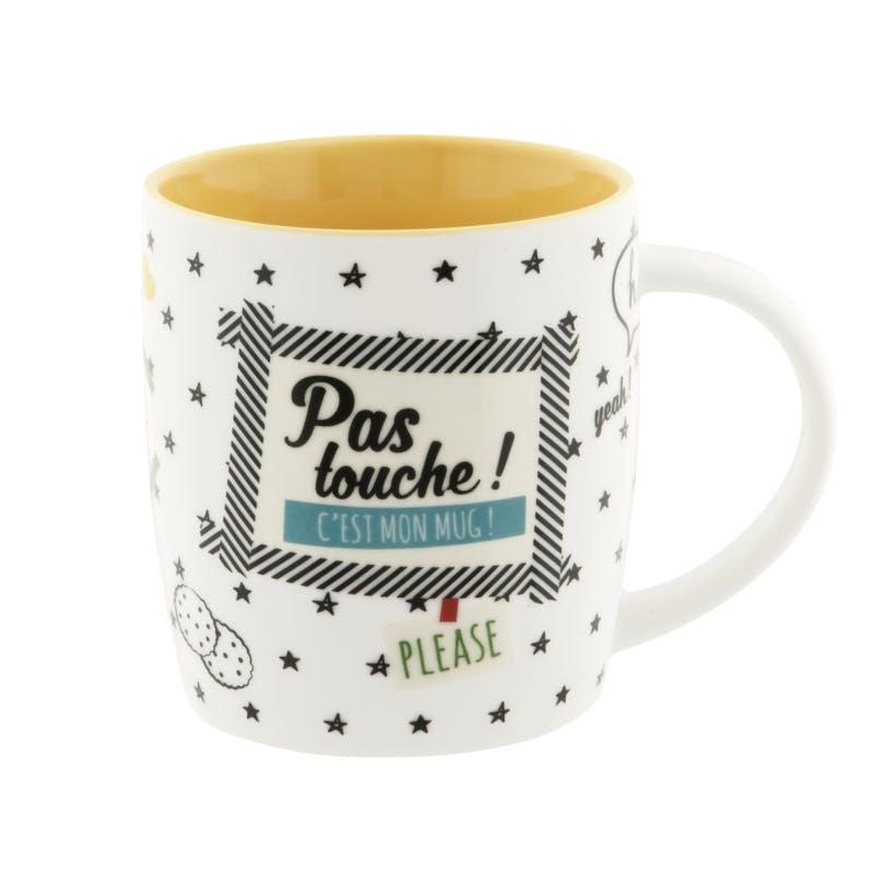 PAS TOUCHE Mug Pas Touche D8,5xH9cm DLP