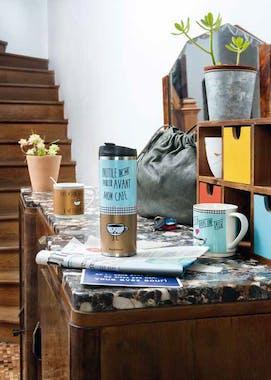 MON CAFE Plateau LE MOMENT DU CAFE 20x15cm DLP