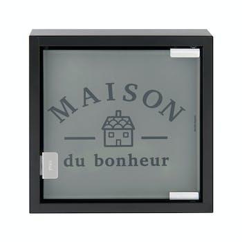 MAISON DU BONHEUR Armoire à Clés Maison du Bonheur 25x25x6cm DLP