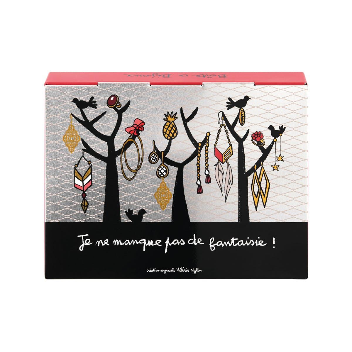 MISS CHIC Boîte à Bijoux J'Adore 23x4x18cm DLP