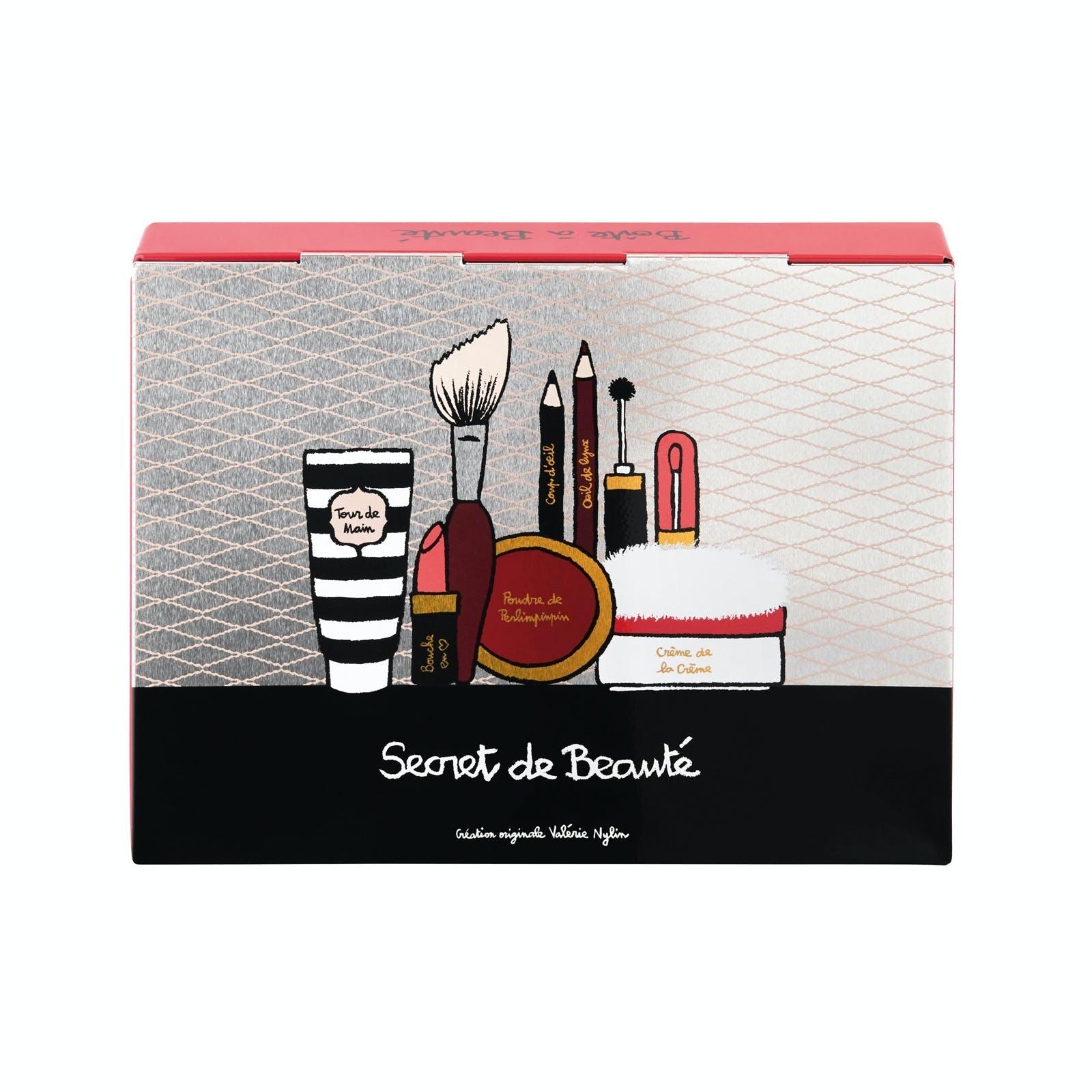 MISS CHIC Boîte à Beauté Palette Secrète 23x4x18cm DLP