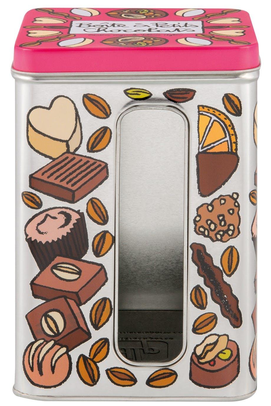 LES FENETRES Boîte à Petits Chocolats 11,5x11,5x14,5cm DLP