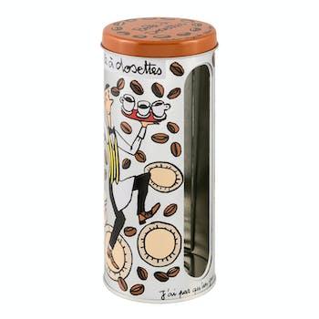 LES FENETRES Boîte à dosettes de café 17x7,5cm DLP