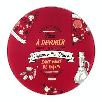 SANS MODERATION Plat à Pizza (+ roulette) D32cm DLP