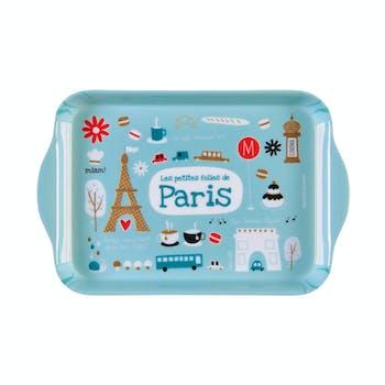 PETITES FOLIES DE PARIS Plateau 20x15x1cm DLP