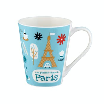 PETITES FOLIES DE PARIS Mug D8xH10cm DLP