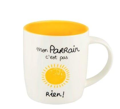 FAMILLE Mug (+ Boite) Mon Parrain 8,5x9cm DLP