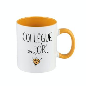 "ELOGES Mug ""Collègue en Or"" 11x9cm DLP"