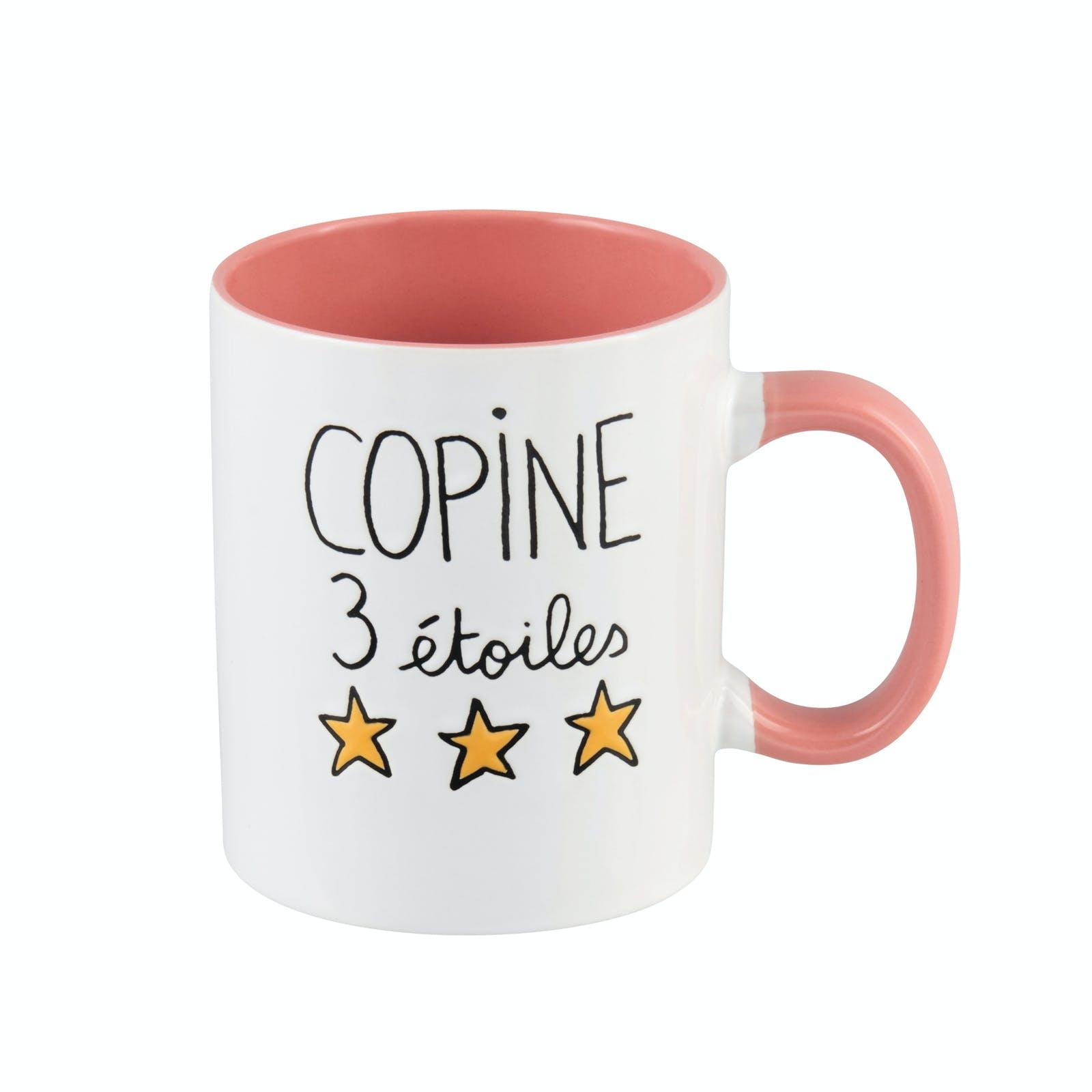 """ELOGES Mug """"Copine 3 étoiles"""" 11x9cm DLP"""