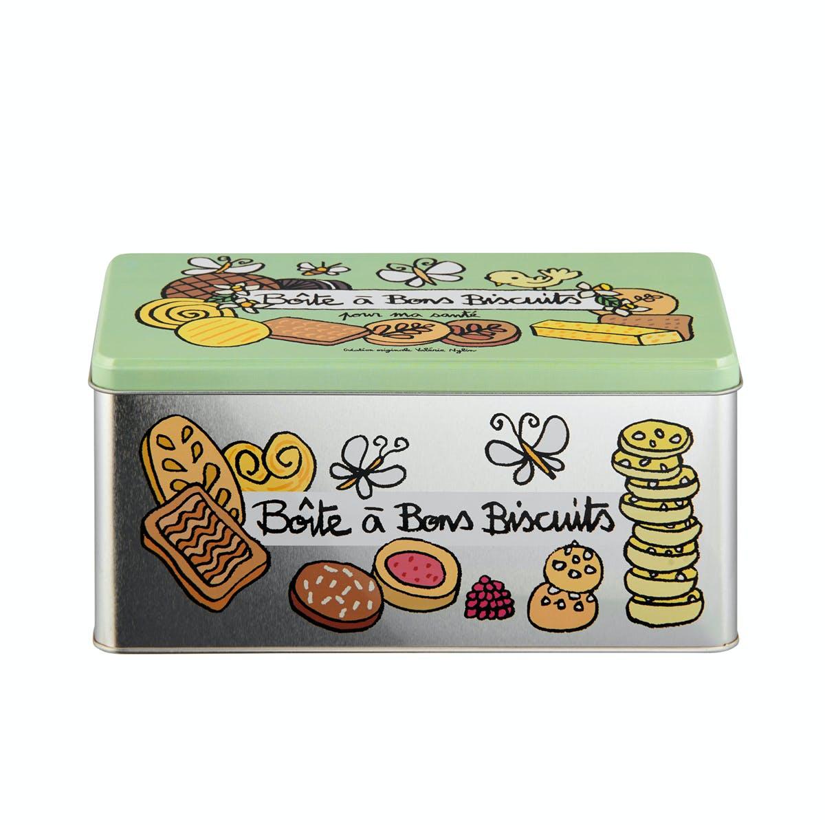 CUISINE DE VAL Boite à Biscuits 23x11,5x10,5cm DLP