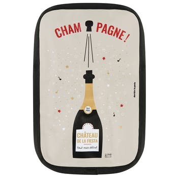 """Rafraichisseur de bouteille """"Champagne"""" 15,5x23cm DLP"""