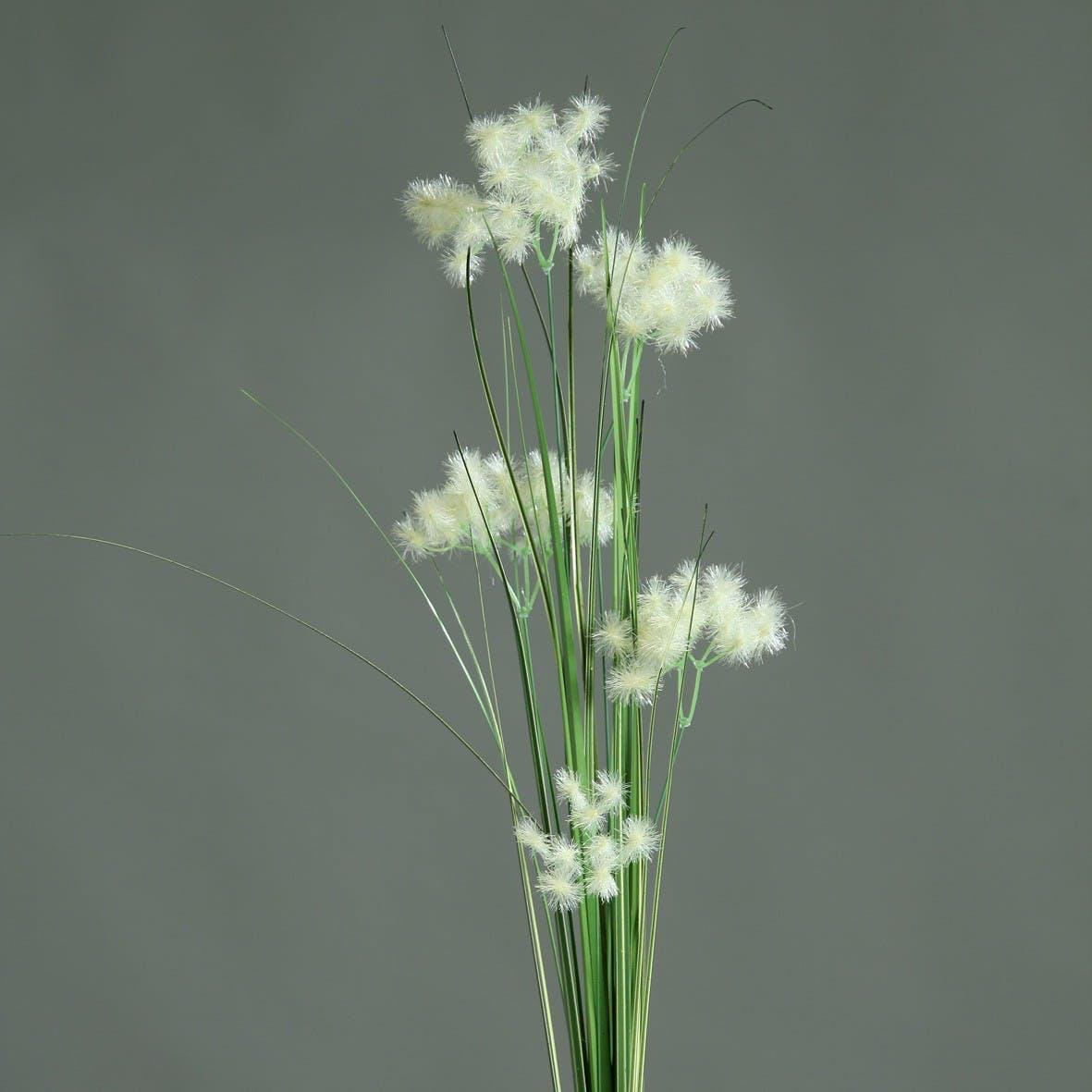 Herbe fleurs Crème 93CM