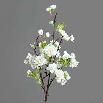 Branche fleurs de cerisier japonais Rose 46CM