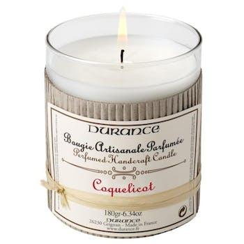 Bougie parfumée Coquelicot DURANCE