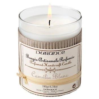 Bougie parfumée Camélia blanc DURANCE