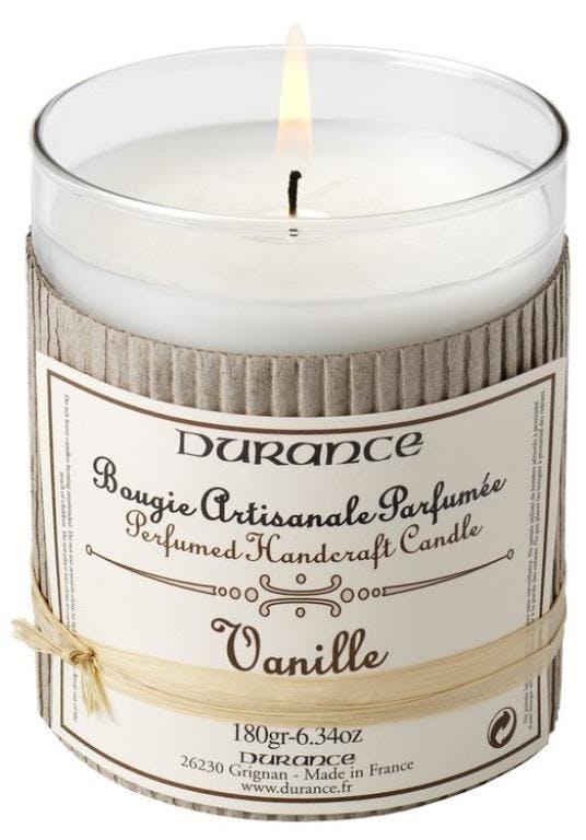 Bougie parfumée Vanille et ylang DURANCE