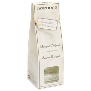 Diffuseur de parfum Camélia blanc 100ml DURANCE
