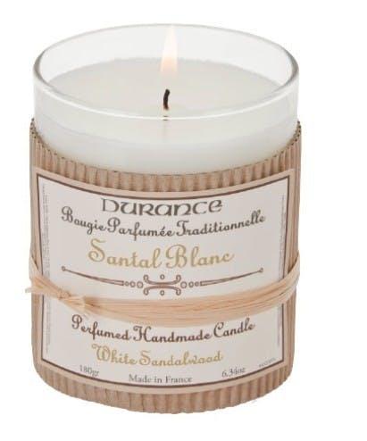 Bougie parfumée Santal Blanc 180grs DURANCE