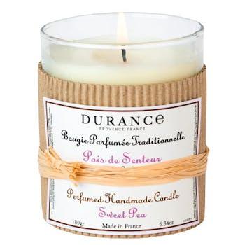 Bougie Parfumée Traditionnelle Pois de Senteur 180grs DURANCE