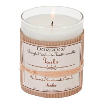 Bougie Parfumée Traditionnelle Tonka 180grs DURANCE