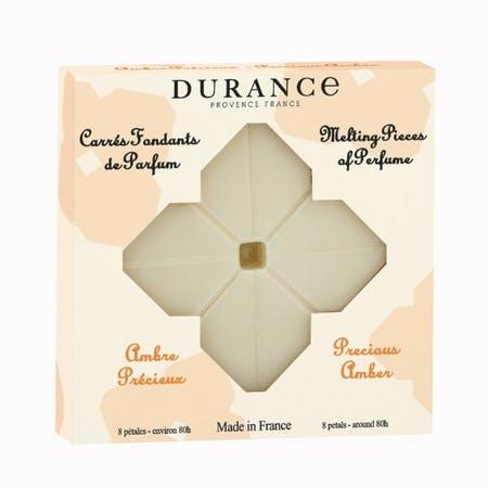 Carrés Fondants de Parfum Ambre précieux DURANCE