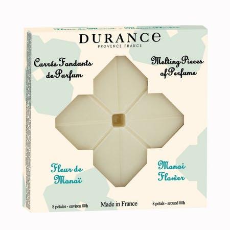 Carrés Fondants de Parfum Fleur de Monoï DURANCE
