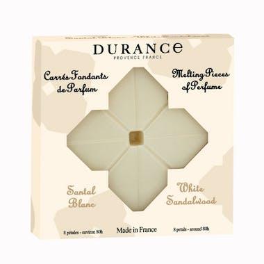 Carrés Fondants de Parfum Santal Blanc DURANCE