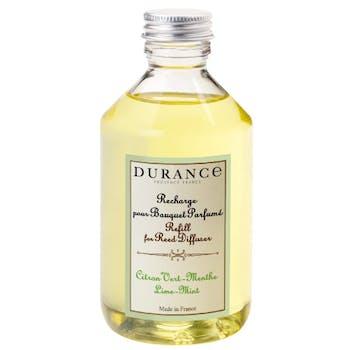 Recharge Citron vert Menthe pour bouquet parfumé 250ml DURANCE