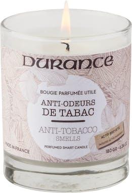 Bougie parfumée gamme Utile Anti-odeurs de Tabac 180grs DURANCE