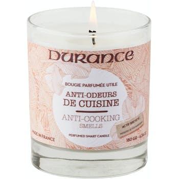 Bougie parfumée gamme Utile Anti-odeurs de Cuisine 180grs DURANCE