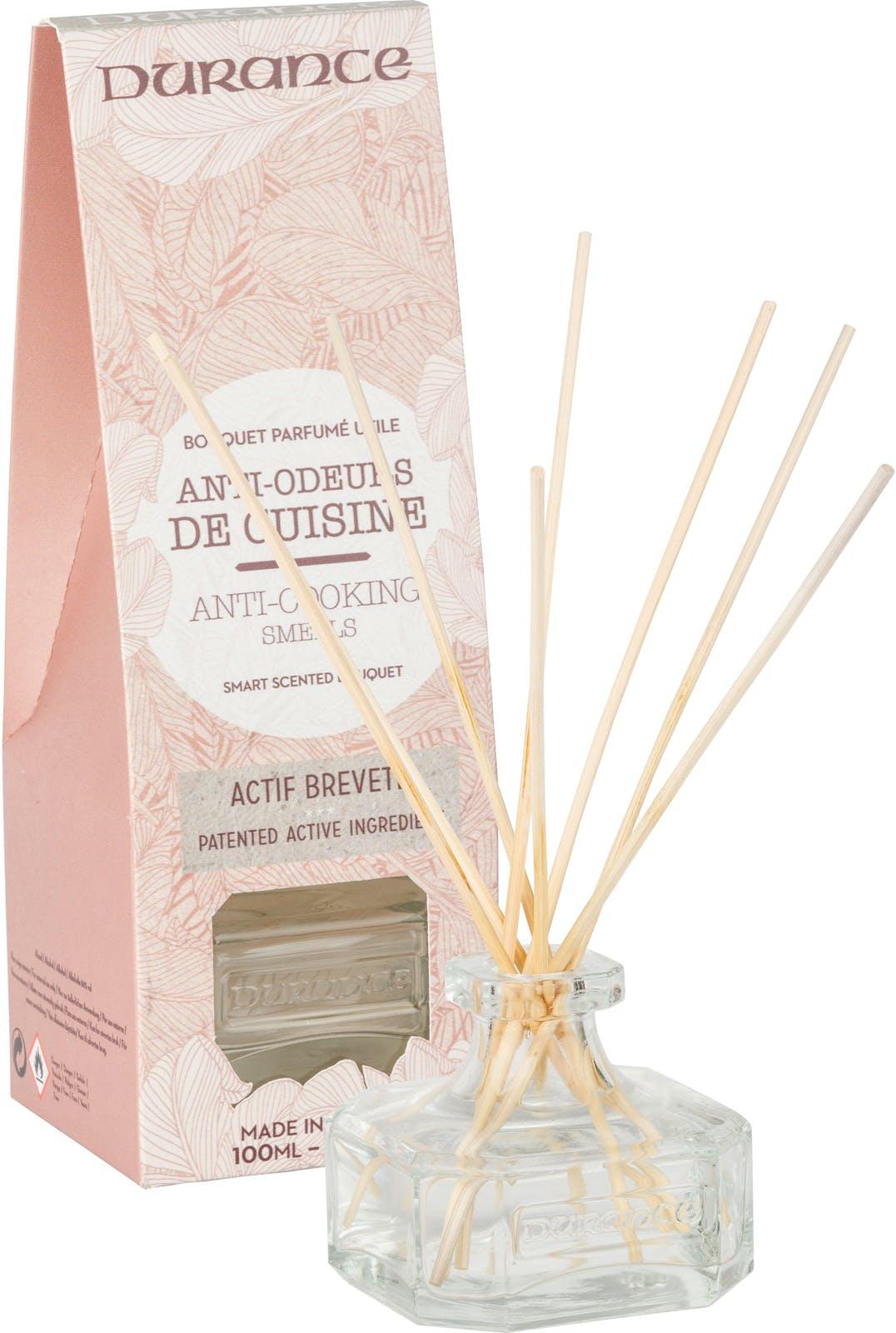 Bouquet parfumé gamme Utile Anti-odeur de Cuisine 100ml DURANCE
