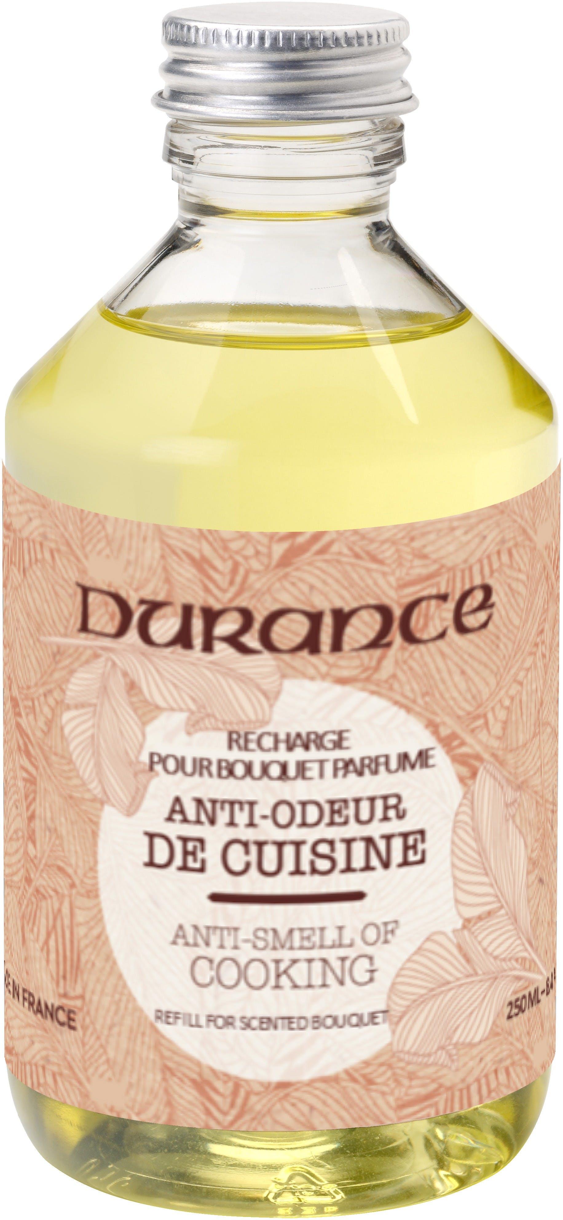 Recharge gamme Utile Anti-odeur de Cuisine pour bouquet parfumé 250ml DURANCE