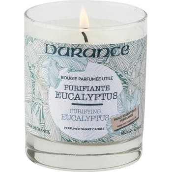 Bougie parfumée gamme Utile Eucalyptus Purifiant 180grs DURANCE