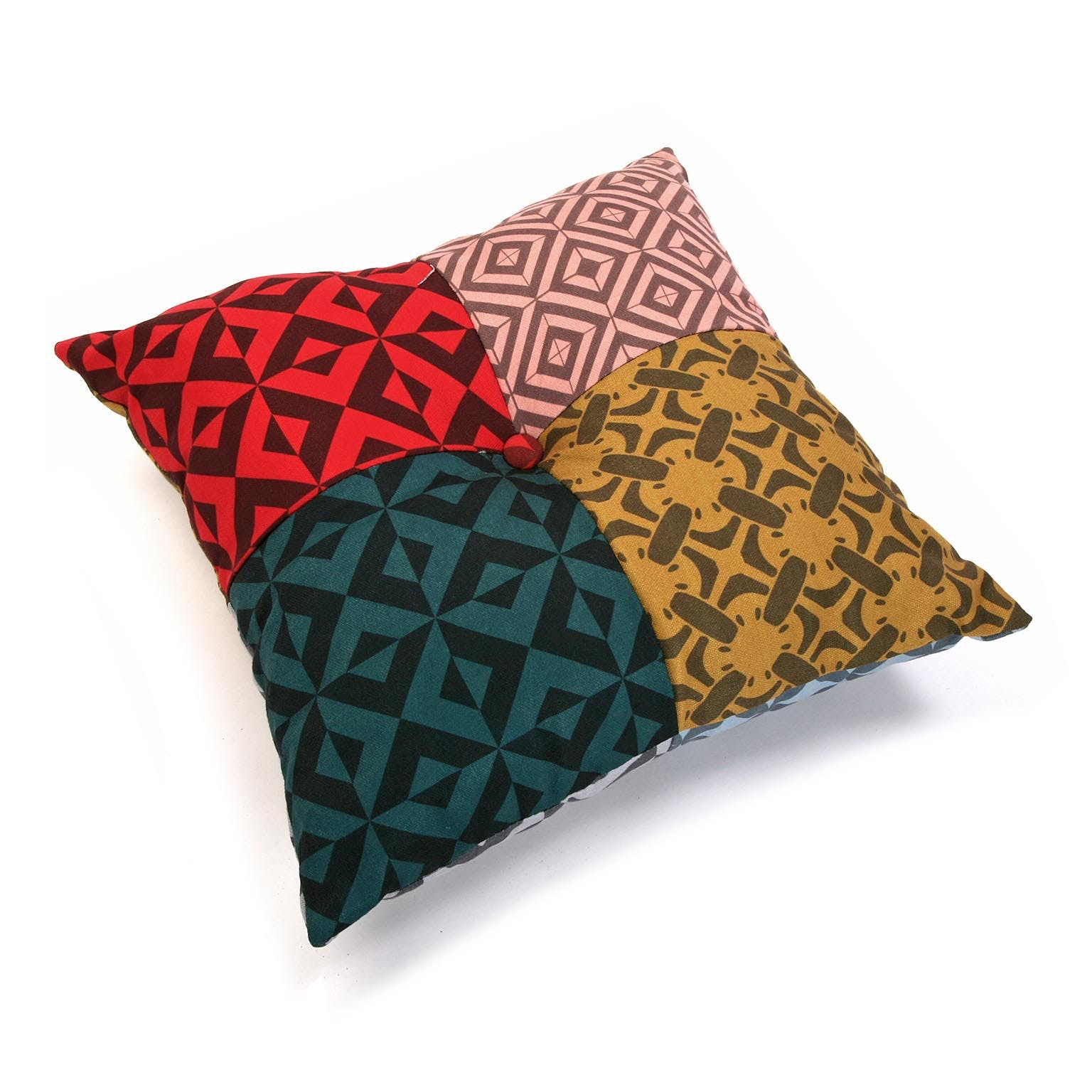 Coussin patchwork carré Harvey
