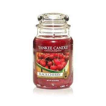 Cerise Griotte bougie parfumée grande jarre YANKEE CANDLE